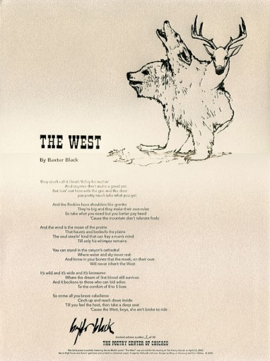 Baxter Black - The West