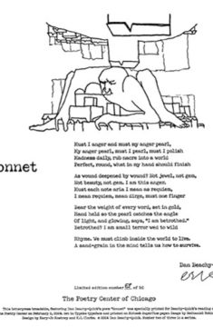 Dan Beachy-Quick - Sonnet
