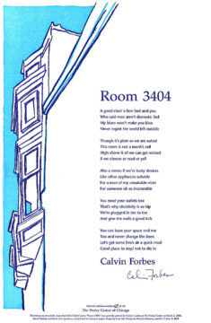 Calvin Forbes - Room 3404