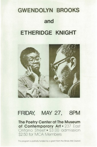 One of seven reprinted classic poet posters from the Poetry Center archive. Scroll through the gallery for others.